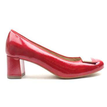 ARA 35512 COURT SHOE - RED PATENT