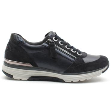 GABOR 36973 LACED CASUAL SHOE - NAVY