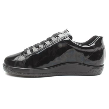 ECCO 400583 LACED SHOE - Black