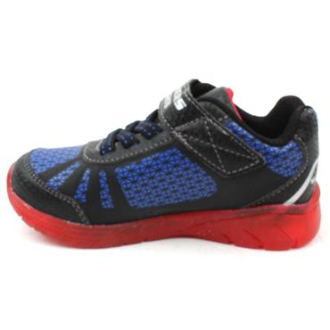 SKECHERS 401520N JUNIOR RUNNER - BLACK/RED
