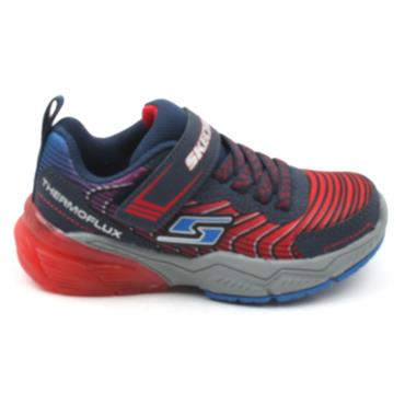 SKECHERS 403730L JUNIOR RUNNER - RED MULTI