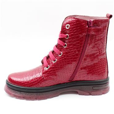 PABLOSKY 404177 LACED BOOT - WINE