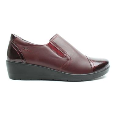 ATRAI WEDGE SHOE 4083 - BURGUNDY