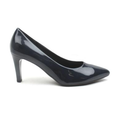 GABOR 41380 COURT SHOE - NAVY PATENT