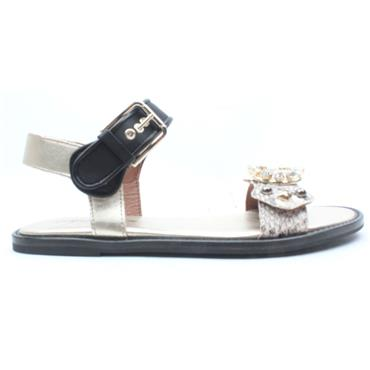 ALPE 4195 SANDAL - BLACK MULTI
