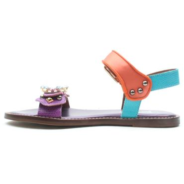 ALPE 4195 SANDAL - PURPLE MULTI