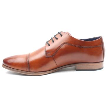BUGATTI 42015 LACED DRESS SHOE - Tan