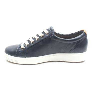 ECCO LACED 430003 SHOE SOFT VII - NAVY