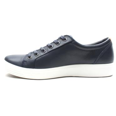 ECCO MENS SHOE 430004 - NAVY LEATHER
