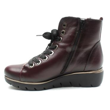 JOSE SAENZ LACED BOOT 4316L - BURGUNDY