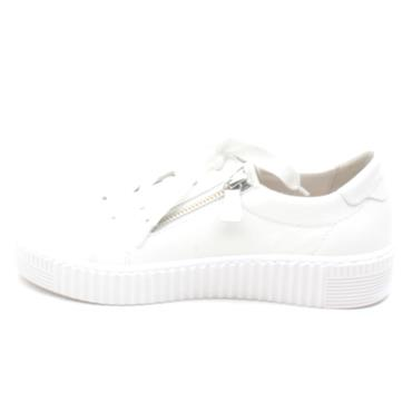 GABOR 43334 LACED SHOE - WHITE
