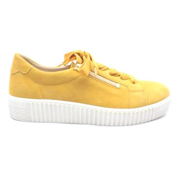 GABOR 43334 LACED SHOE - YELLOW