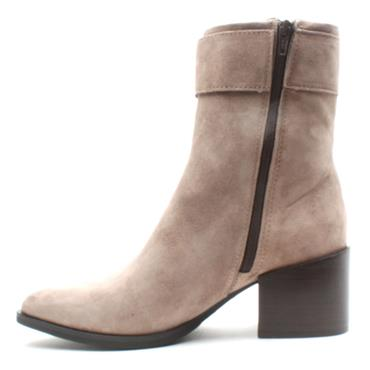 ALPE 4353 BUCKLE ANKLE BOOT - TAUPE