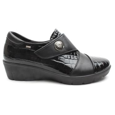 ATRAI WEDGE SHOE 4388 - Black