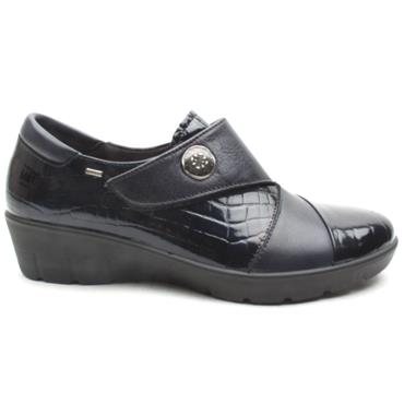 ATRAI WEDGE SHOE 4388 - NAVY