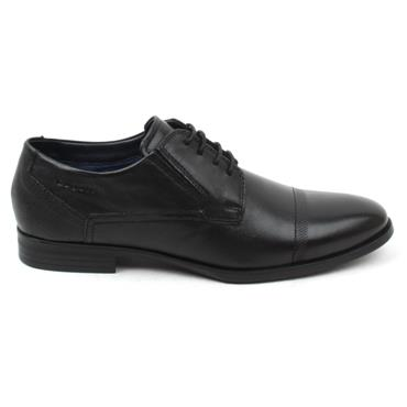 BUGATTI 44608 LACED SHOE - Black