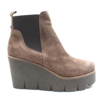 ALPE 4552 WEDGE ANKLE BOOT - BROWN