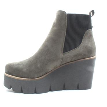 ALPE 4552 WEDGE ANKLE BOOT - GREEN