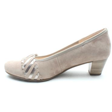 GABOR 46183 COURT SHOE - TAUPE