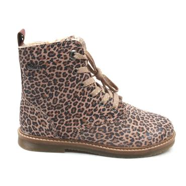 SOLIVER 46213 JUNIOR LACE BOOT - LEOPARD