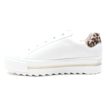 GABOR 46495 LACED SHOE - WHITE