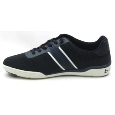 BUGATTI 46504 LACED SHOE - NAVY