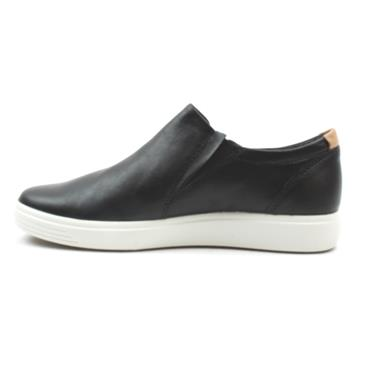 ECCO 470173 ZIP SHOE - Black