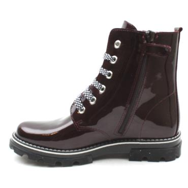 PABLOSKY 489899 LACED BOOT - BURGUNDY