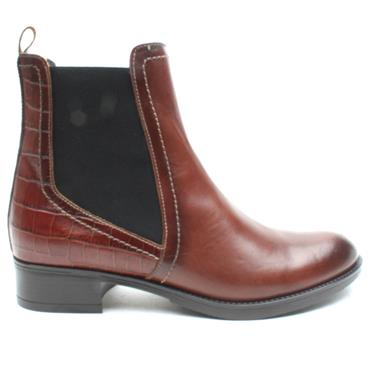 LUIS GONZALO 4930M ANKLE BOOT - BROWN