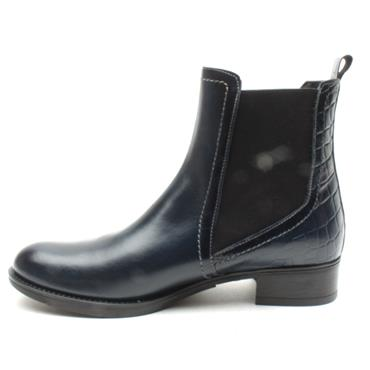 LUIS GONZALO 4930M ANKLE BOOT - NAVY