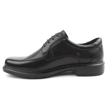 ECCO MENS LACED 50104  SHOE - Black
