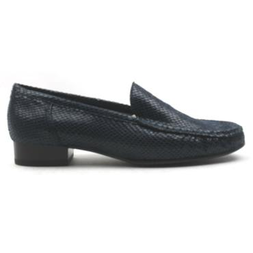 JENNY LADIES LOAFER SHOE - NAVY