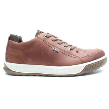 ECCO 501824 LACED SHOE - TAN