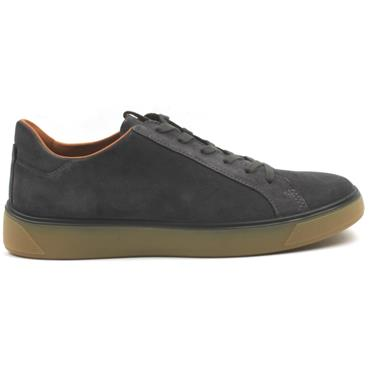 ECCO 504564 LACED SHOE - GREY
