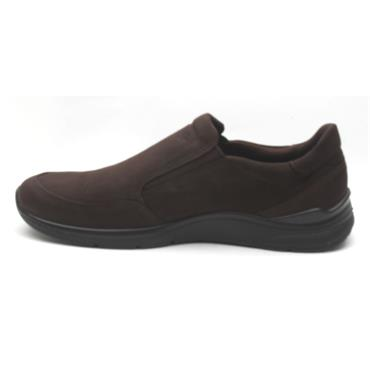 ECCO 511714 SLIP ON SHOE - BROWN