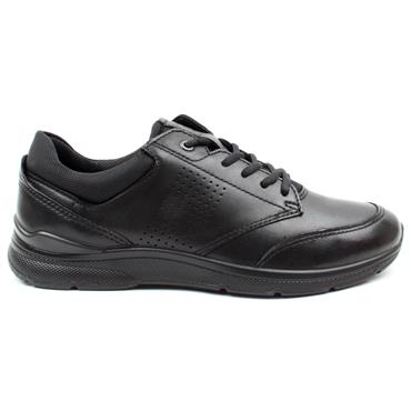 ECCO 511734 IRVING LACED SHOE - BLACK/BLACK