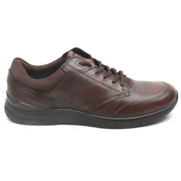 ECCO 511734 IRVING LACED SHOE - BROWN MULTI