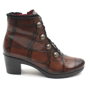 JOSE SAENZ 5176 ANKLE BOOT - BROWN MULTI