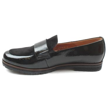 GABOR 52432 LOAFER SHOE - Black