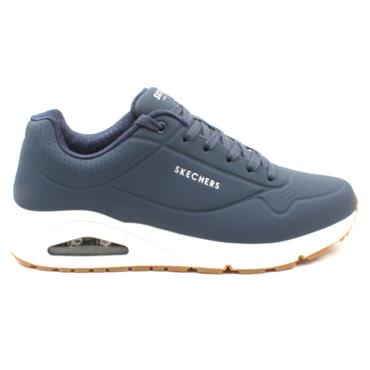 SKECHERS 52458 LACED RUNNER - NAVY