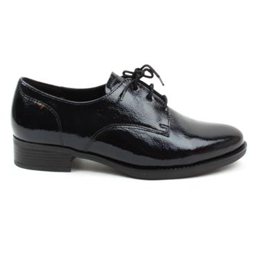 GABOR 52535 LACED SHOE - NAVY PATENT