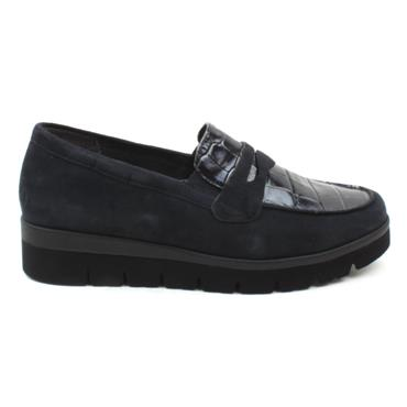 GABOR 52544 LOAFER SHOE - NAVY