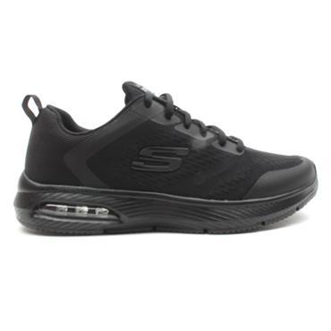 SKECHERS 52559 LACED RUNNER - BLACK/BLACK