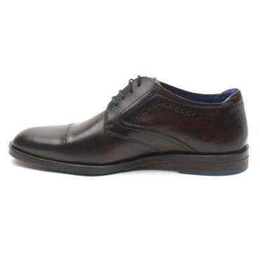 BUGATTI 52802 DRESS LACED SHOE - DARK BROWN