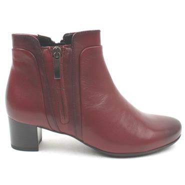 GABOR 52828 ANKLE BOOT - RED