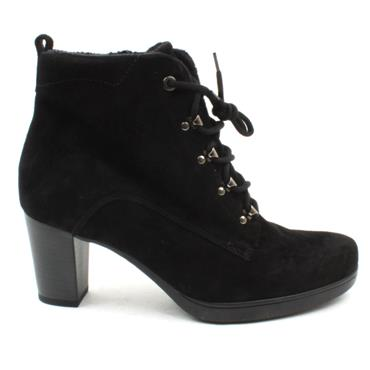 GABOR 52865 LACED BOOT - Black