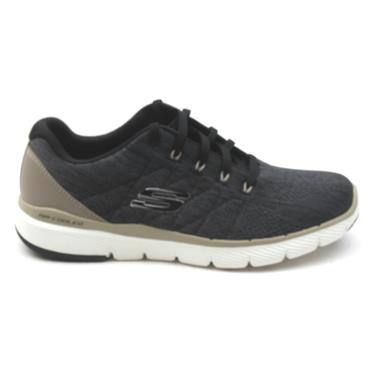 SKECHERS 52957 LACED SHOE - Black