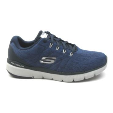 SKECHERS 52957 LACED SHOE - NAVY