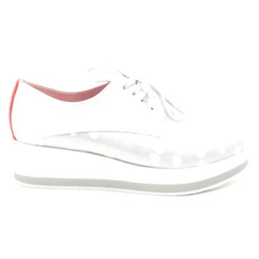 MARIA LEON SHOE 5310 - WHITE SILVER