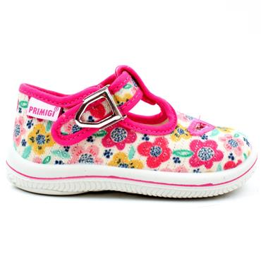 PRIMIGI 5350033 CANVAS SHOE - PINK MULTI